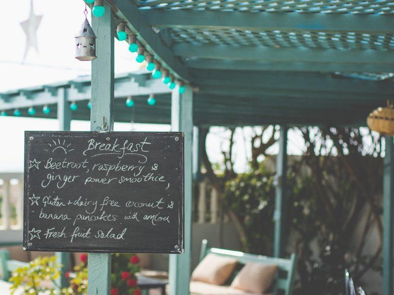 Villa Mandala - breakfast menu (1)